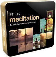 SIMPLY MEDITATION (3CD TIN) 3 CD NEUF