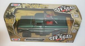 Motor Max...1979 Ford F-150 Custom...Off-Road 1/24 (MIB)