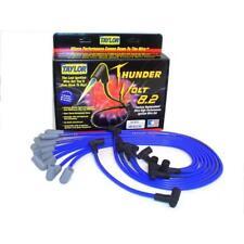 Taylor Spark Plug Wire Set 84602; ThunderVolt 8.2mm Blue 90° for Chevy V8
