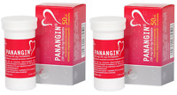 2 x 50 Panangin 100 tablets Potassium Magnesium Supplement 2024 GEDEON Richter