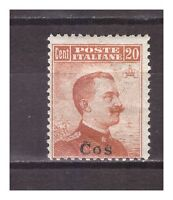 s13859) COS COO 1917 MNH** Nuovi** Definitive Sass.9 - 1v. 20c no watermark