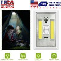 Cordless LED Night Light COB LED Switch Battery Powered 200 Lumen Multi-function