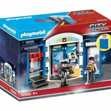PLAYMOBIL 70306 CITY ACTION STATION DE POLICE