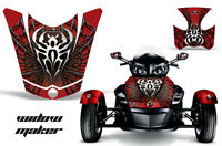 AMR Racing CanAm BRP RS Spyder Hood Graphic Kit Wrap Roadster Sticker Decal WM R