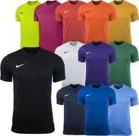 Nike Mens T Shirt Gym Sports Tee Football Top Size S M L XL XXL Black Navy Red