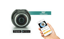 360 Degree Experience Full HD Fisheye Panoramic VR Action Camera 3D Waterproof