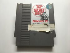 GOLGO 13: TOP SECRET EPISODE - NES GAME CARTRIDGE ONLY * CLEANED AND TESTED *