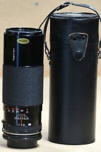 Tamron 300mm f5.6 Camera Lens with adapter for Canon FD