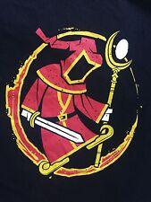"MENS Original Paradox Interactive"" Red Ninja With Gigantic Sword T-shirt Large"