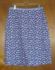Boden Blue/White Polka Dot Skirt-10L