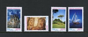 C407  Turkey 1999  tourism  golf sailing archaeology   4v.        MNH