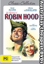The Adventures of Robin Hood DVD NEW, FREE POSTAGE WITHIN AUSTRALIA REGION 4
