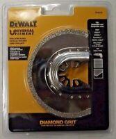 "DEWALT DWA4240 Universal Fitment Diamond Grit 3"" Half-Moon Oscillating Blade"