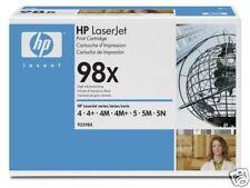 TONER HP NOIR 92298x NEUF + 50% OFFERT ! / 92298 98x 98
