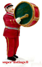 Dept. 56 Salvation Army Band Member Musician with Bass Drum Cic 59854