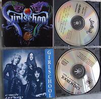 Girlschool- Same (1992)/ C´mon let´s go- 2 CDs WIE NEU
