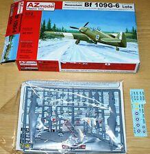Messerschmitt Bf 109 G-6 Late (3x camo) Finnland in 1/72 von AZ Model