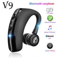 V9 Cuffia Bluetooth Casco Vivavoce senza Fili Casco Business Lettore