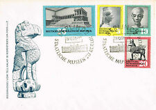 ARCHEOLOGY FDC cover Germany 1959 DDR, Syria, Zeus, Greece, Egypt, complete set