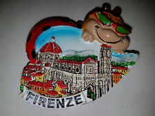 Souvenir Fridge Magnet Italia Italy - Florence in Lady Bug - Brand New
