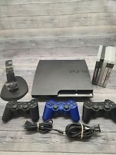 Sony PlayStation 3 PS3 Slim CECH-2501A 160GB Console - 5 GAMES