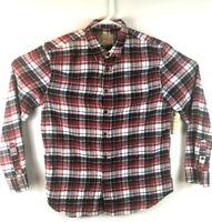 JACHS MFG & CO Multicolor Plaid Flannel LS Button Down Shirt Mens Size XL