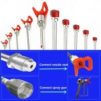 Airless Paint Sprayer Tip Extension Pole Rod for Airless Sprayer Spray Gun Tool