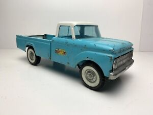 Rare Vintage Original Nylint FORD TWIN I BEAM Suspension Torquoise Pickup Truck