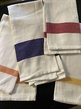 Wimpole Street Creations Tea Towel 4 Pc Set Stripe 27�
