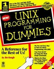 NEW - Unix Programming for Dummies by Keogh, James Edward
