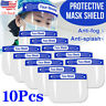 10x Full Face Covering Anti-fog Safety Shield Tool Mask Clear Glasses Eye Helmet