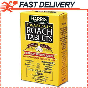 Harris Famous Roach & Silverfish Infestation Killer, 96 tablets