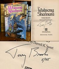 The Wishsong of Shannara HAND SIGNED by Terry Brooks! Fantasy! Shannara Trilogy!