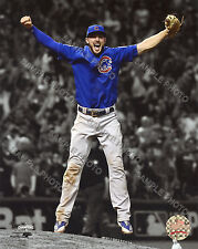 Kris Bryant Chicago Cubs Celebrates Winning the 2016 World Series 8x10 Photo