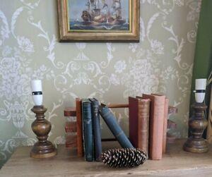 Set of Turned Solid oak Lamps beautiful colour