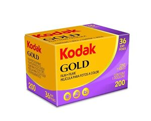 Kodak Gold 200 35mm 36 Exposure Film
