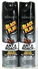 2 Count Black Flag 17.5 Oz Ant & Roach Killer On Contact Unscented Spray