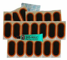 20 REMA TIP TOP TYRE INNER TUBE PUNCTURE REPAIR PATCHES + GLUE CAR BICYCLE BIKE