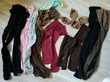 Preowned pantyhose lot stockings tights crafts sewing etc