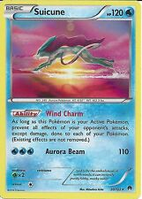 POKEMON CARD XY BREAK-POINT - SUICUNE 30/122 RARE HOLO