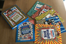 WHERE'S WALLY? THE SOLID GOLD COLLECTION BOXED SET BOOKS 5 & Sticker Book Wally