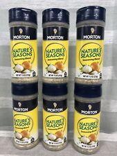 Morton Nature's Seasons Seasoning Blend Salt 6pk 7.5 212g No MSG NEW IN BOX