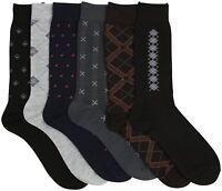 ToBeInStyle Men's Pack of 6 Dress Socks