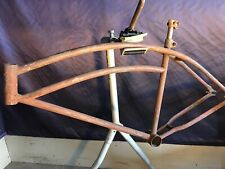Hiawatha Shelby ArrowSpeedline AirFlow Bike FRAME Vintage Prewar Cruiser Bicycle