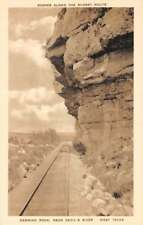 Devils River Texas Hanging Rock Scenic View Antique Postcard K77885