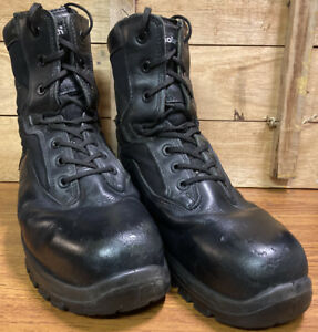YDS Goliath Black Steel Toe Cap Work/ Safety Lace Up Boots Size 10M UK USED
