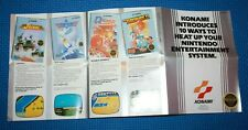 Konami Nintendo Entertainment System NES  Game Catalog