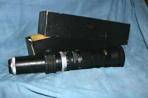 Vintage Tele-Amitar Lens f400