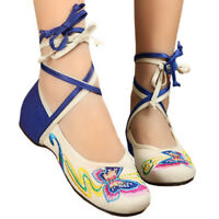 Canvas Old Beijing Cloth Embroidered Shoes Butterfly Strap