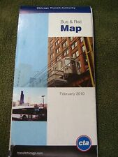 Chicago Transit Authority February, 2010 Bus & Rail Route Map